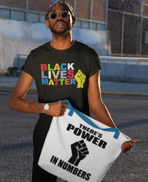 Black Lives Matter colorful